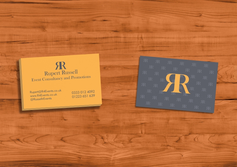 Rupert Russell Business Card Mock-up